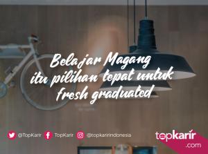 Belajar Magang Adalah Langkah Tepat Untuk Fresh Graduated   TopKarir.com