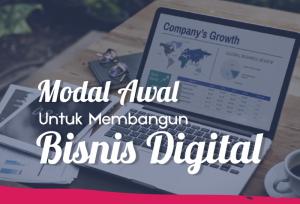 Modal Awal Untuk membangun Bisnis Digital   TopKarir.com