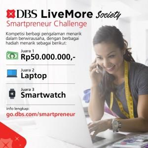 DBS Live More Society Smartpreneur Challenge   TopKarir.com