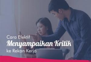 Cara Efektif Menyampaikan Kritik ke Rekan Kerja   TopKarir.com