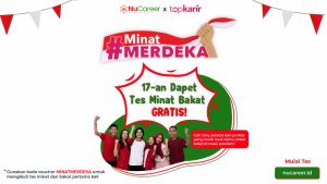 #MinatMerdeka Program Tes Minat dan Bakat Gratis dari NUCareer   TopKarir.com